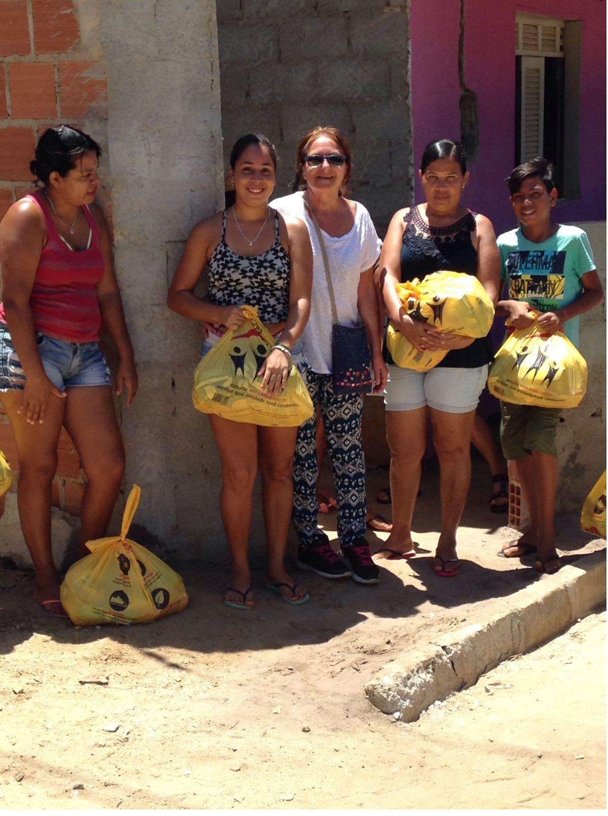 Spesa per i bambini brasiliani
